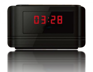HD Spy Clock Camera with Motion Detection & 140° lense