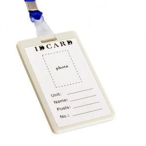 ID Card with Hidden Spy Video Camera 8gb