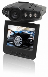 HD Infra red Car DVR Video Camera with Motion Detection