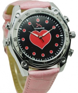 Ladies / Womens HD Spy Watch Camera 8GB