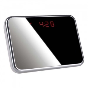 Mirror Style Spy Camera Clock and Motion Detection