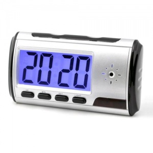 HD Clock Camera Camcorder Recorder with Motion Detection