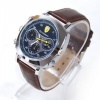 16GB Stylish Spy Camera Watch with Leather Strap