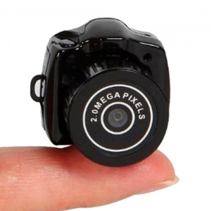 Super Tiny Keyring Sized Spy Video Camera and Camcorder