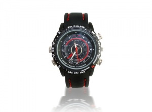 HD Waterproof Mini DVR Wrist Watch Spy Camera 8GB