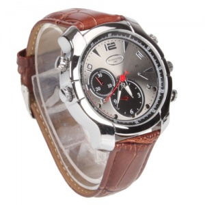 Infrared HD Video Camera Wrist Watch 16GB Waterproof