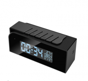 Night Vision Hidden Camera Alarm Clock with Wifi