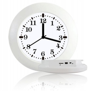 Wi-Fi Wall Clock Spy Security Camera HD 1080P