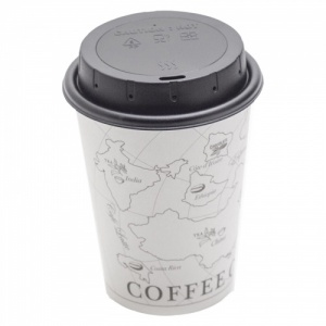 Spy Camera Coffee Cup Lid with Motion Detection & Night Vision