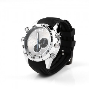 HD 8GB IR Night Vision Spy Camera Watch