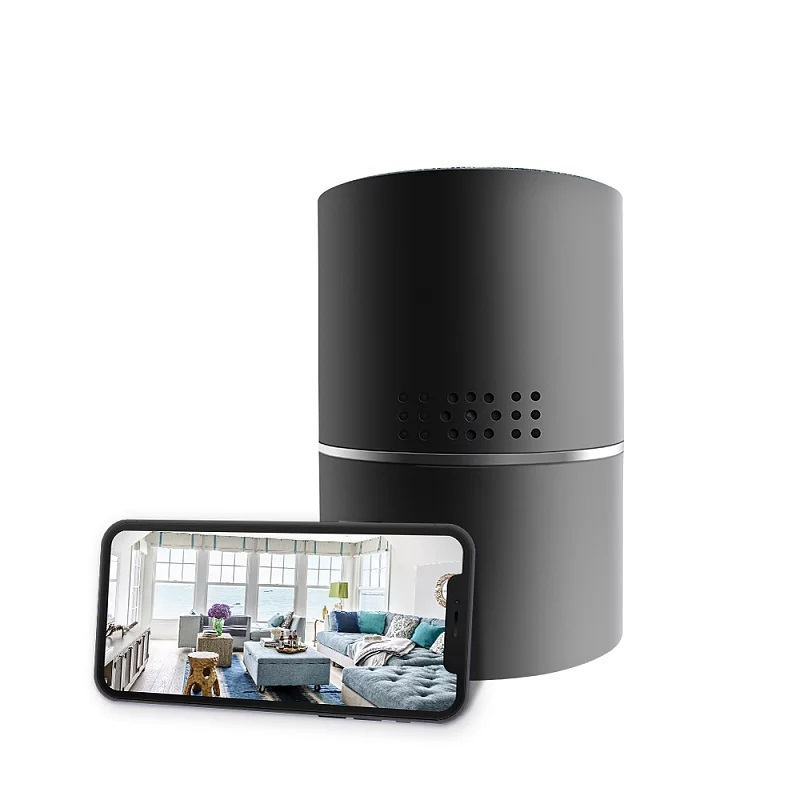 Bluetooth Speaker Wifi Camera 330 Degree Angle View