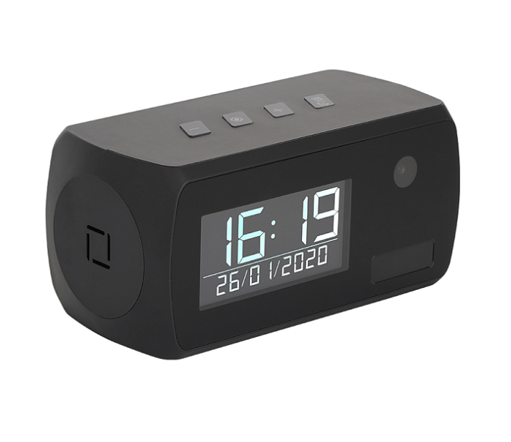 Wifi Clock Camera with 1 Year Battery Life