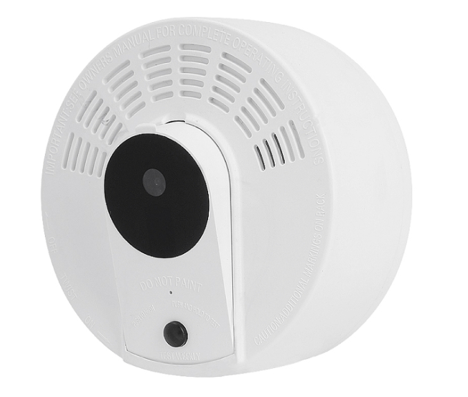 Smoke Alarm Camera with 365 Day Long Life Battery