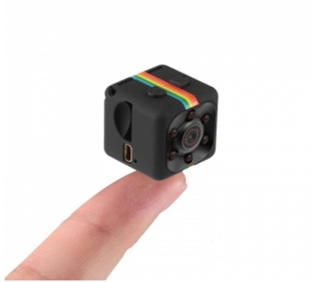 Tiny HD Clip on Video Camera with Night Vision