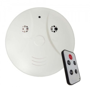 Smoke Alarm Spy Video Camera